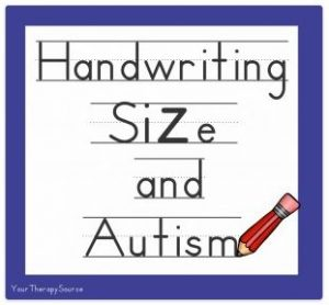 Do childrenwith autismandAsperger's disorder have difficulty controlling handwriting size? A kinematic evaluation